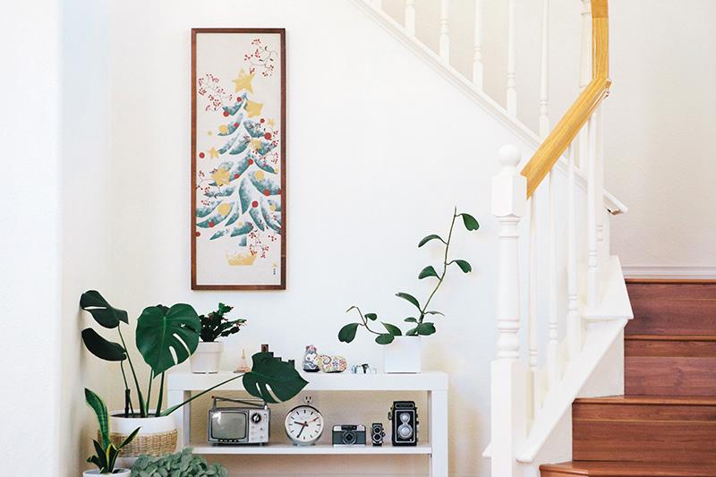December Tenugui Frame